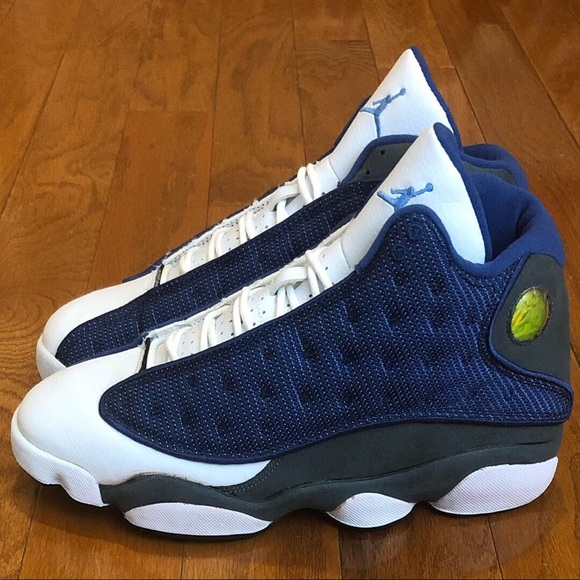 best website 5e77f ecdcb Air Jordan 13 Retro French Blue Flint Grey 3M sz 8